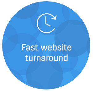 fast website turnaround